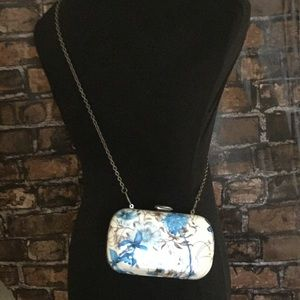 Floral Clutch with Chain Strap by STREET LEVEL